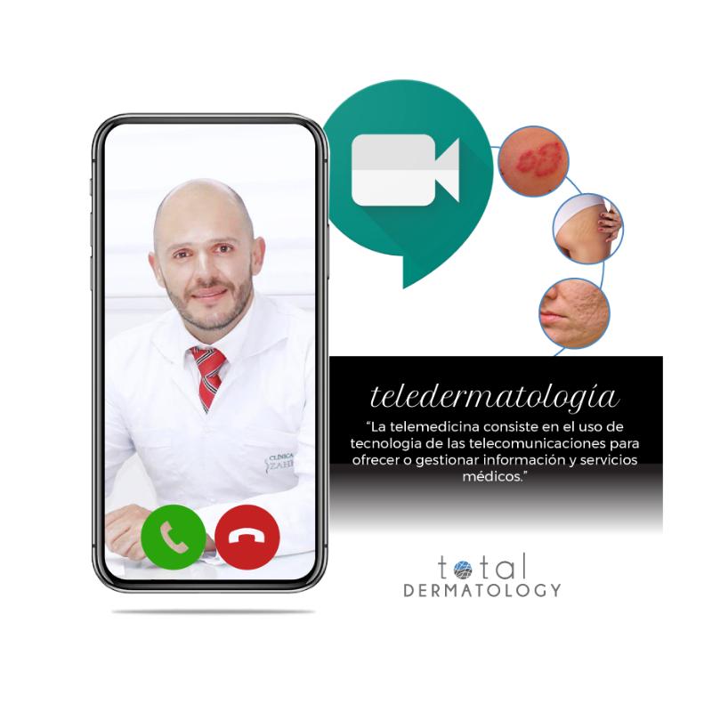 ¿Cómo nos puede ayudar la teledermatología?